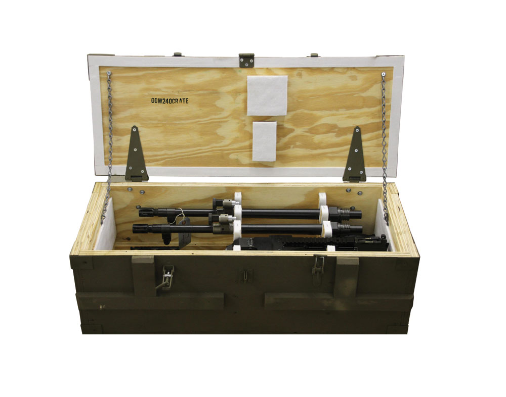 M240 Shipping Crate